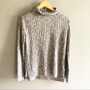 Anthropologie Cloud Chaser Turtleneck Sweater